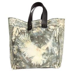 Balmain Multicolor Canvas & Leather Large Bag