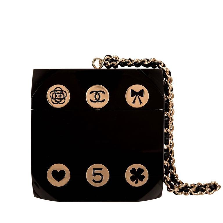 "Chanel ""Dice"" Casino Minaudiere Bag For Sale"
