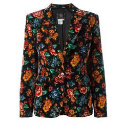 Kenzo Floral Print Blazer