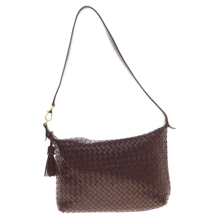 Bottega Veneta Shoulder Bag Intrecciato Nappa Medium at 1stdibs 708c372971204