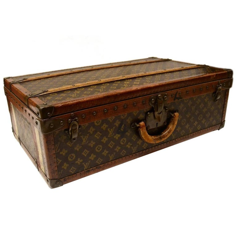 Louis Vuitton Vintage Monogram Hard Suitcase