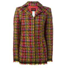 Multicolored Tweed Christian Lacroix 'Bazaar' Blazer
