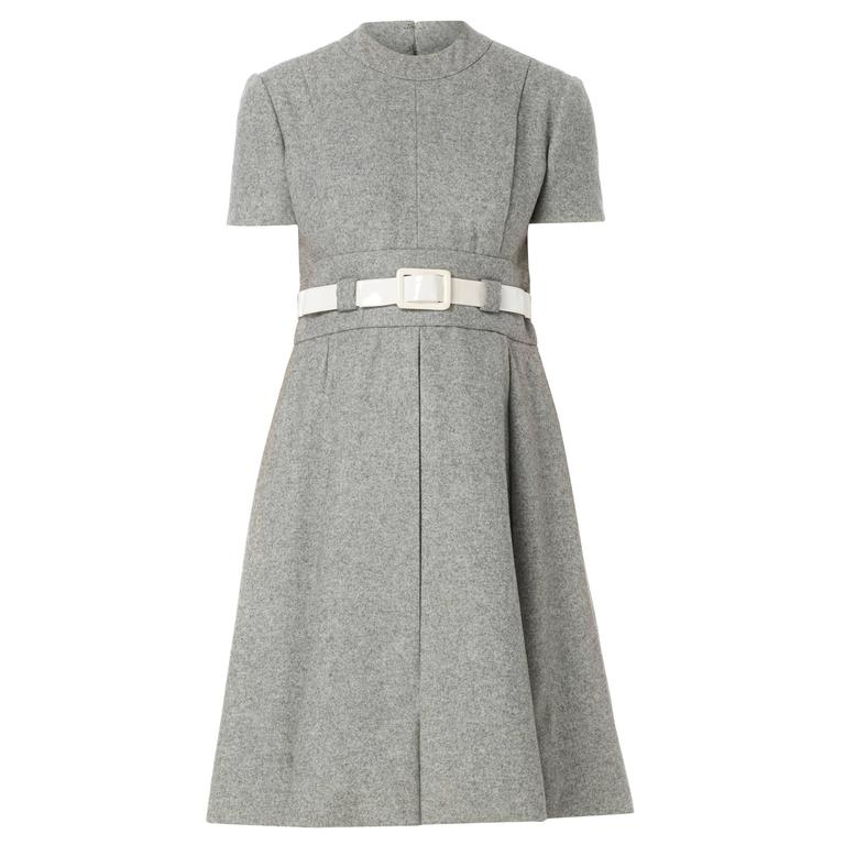 Geoffrey Beene grey dress, circa 1965 1