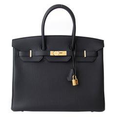 Brand New Hermes Birkin Black Togo 35 GHW