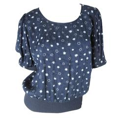 Ungaro Crepe Star Top