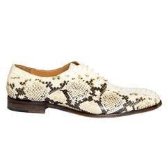 Maison Martin Margiela Python Oxford Shoes