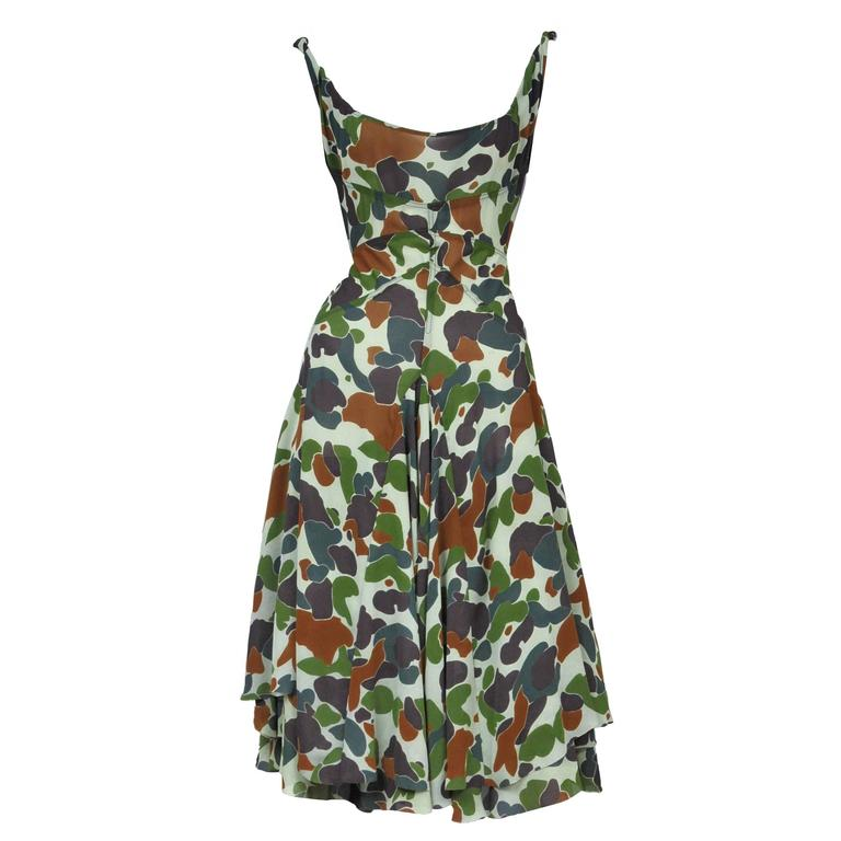 Junya Wantanabe Camo Print Dress 1