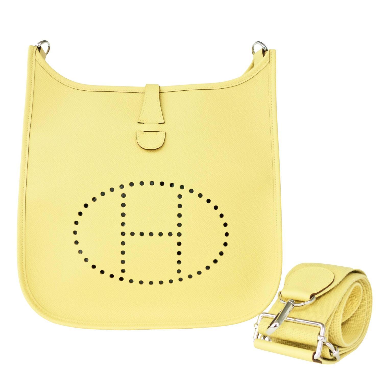 hermes birkin outlet - hermes evelyne pm messenger bag gris tourterelle, hermes birkin price