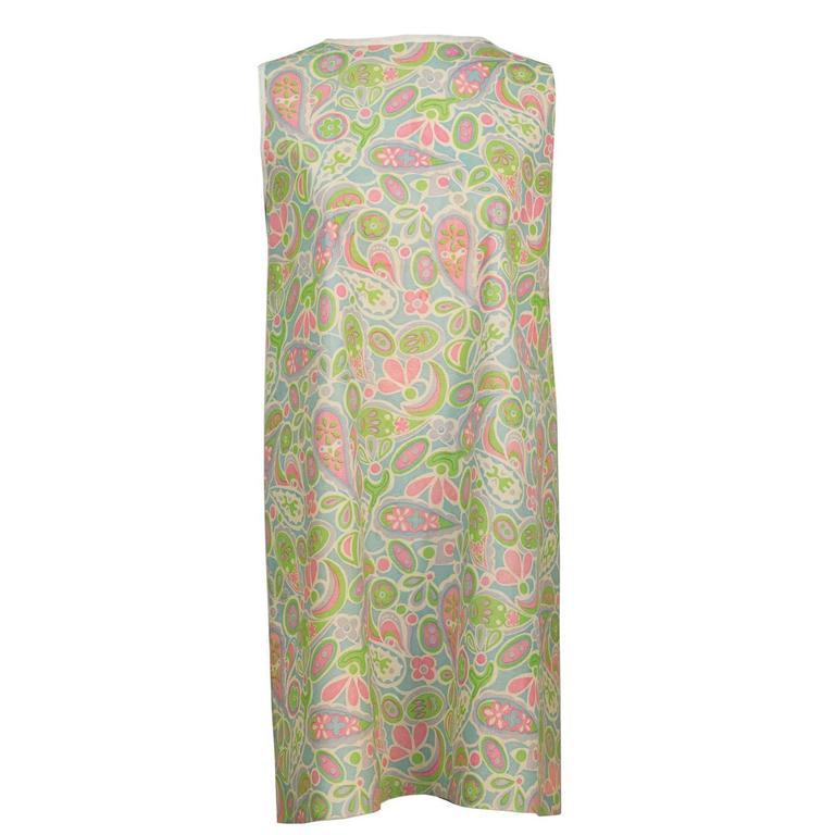 1960's Mod Paisley Paper Dress