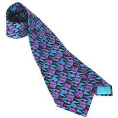 Emilio Pucci Classic Silk Necktie