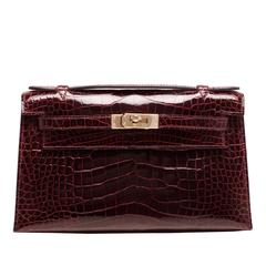 hermes bag outlet - Hermes Capucine Swift Mini Kelly Pochette For Sale at 1stdibs