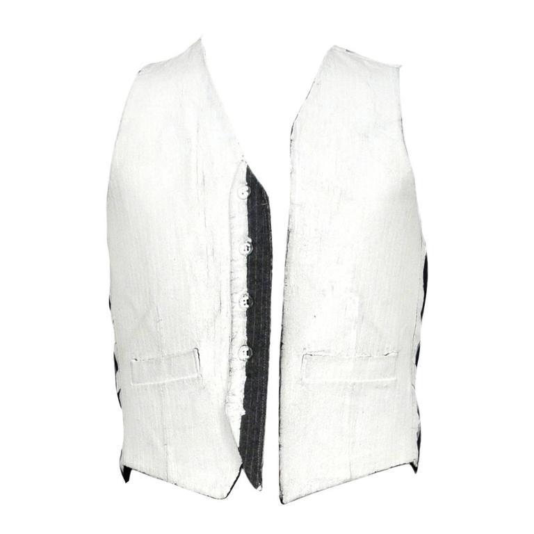 Margiela Artisanal Painted Vest