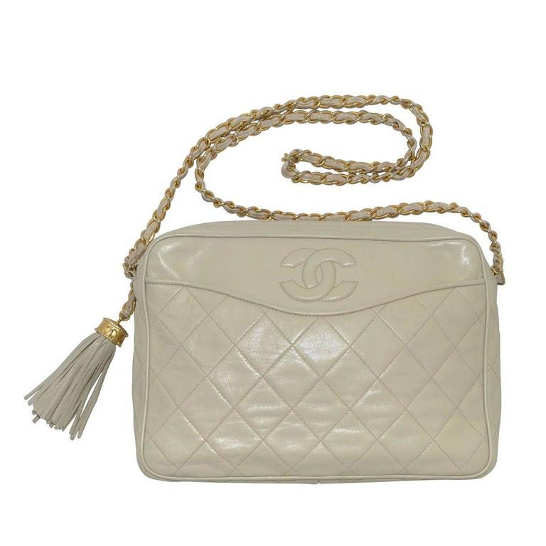 Chanel 1986-1988 Camera Bag  1