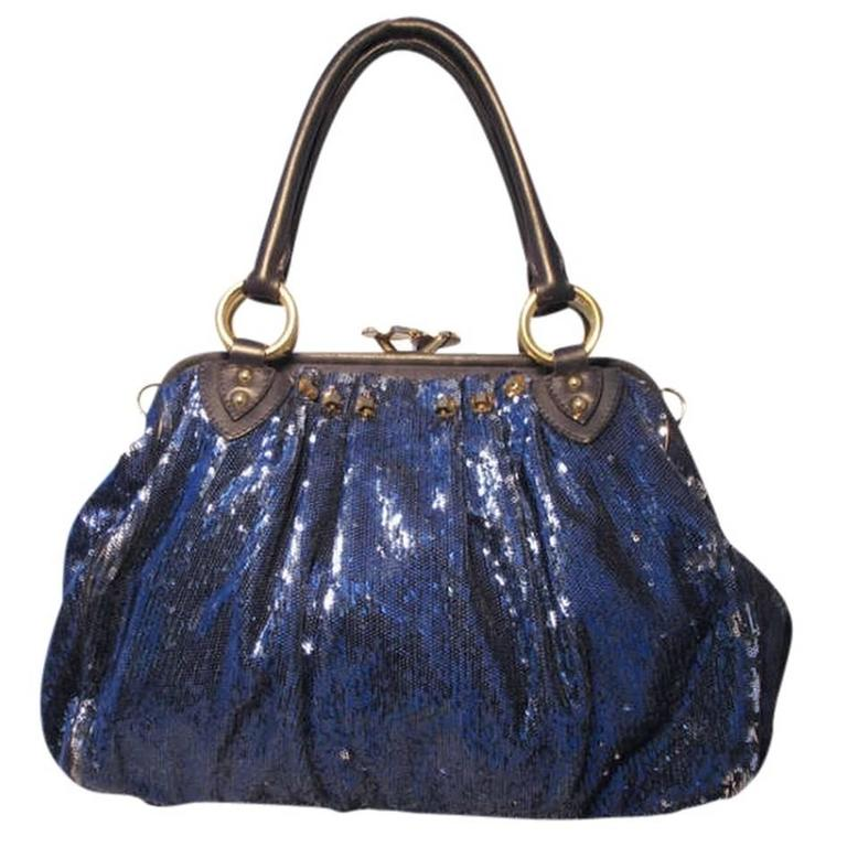 Marc Jacobs New York Rocker Sequin Stam Bag