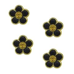 Chanel Flower Power Buttons