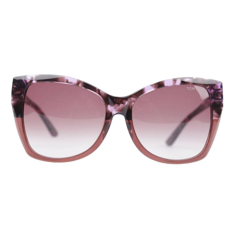 TOM FORD Eyewear CARLI TF 295 55Z 57/16 Oversized Butterfly SUNGLASSES Boxed 1