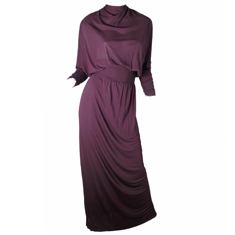 Givenchy Evening Gown, Early 1970s For Sale