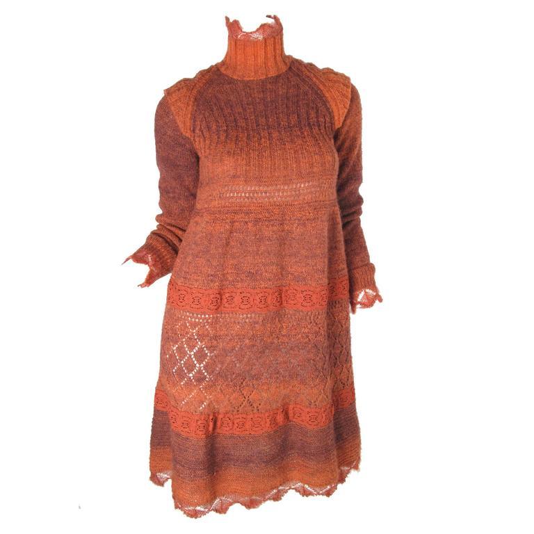 Jean Paul Gaultier Sweater Dress For Sale