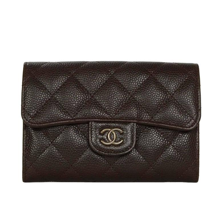 a9c0acca07a8f1 Chanel Short Wallet Black Caviar | Stanford Center for Opportunity ...