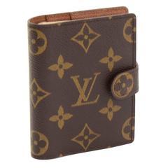 Louis Vuitton Monogram Canvas Mini Agenda Cover + Travel Notes