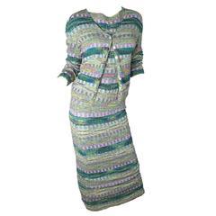 Missoni Knit Skirt, Cardigan & Top