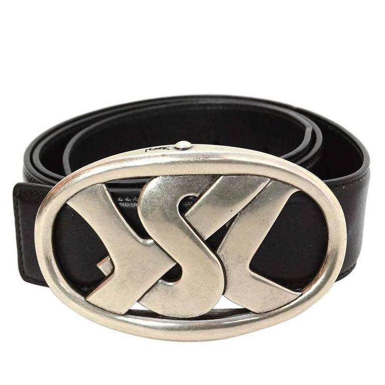 2318d089ef96 Yves saint laurent black leather belt for sale at stdibs jpg 768x768 Ysl  belt buckle