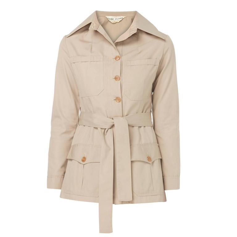 Ossie Clark safari jacket, circa 1968