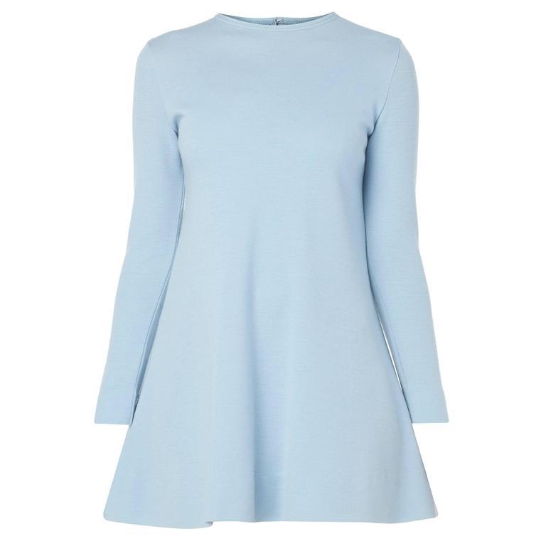 Rudi Gernreich blue dress, circa 1965 1