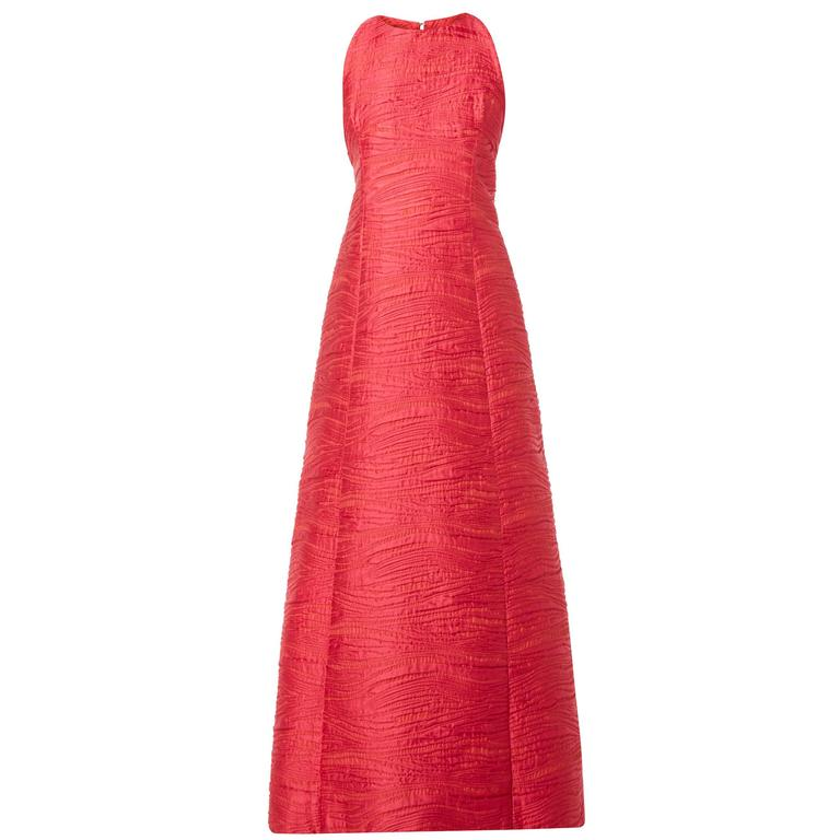 Pierre Balmain haute couture pink dress, circa 1960