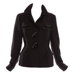 Prada Virgin Wool Jacket With Jeweled Embellishments, Autumn - Winter 2005
