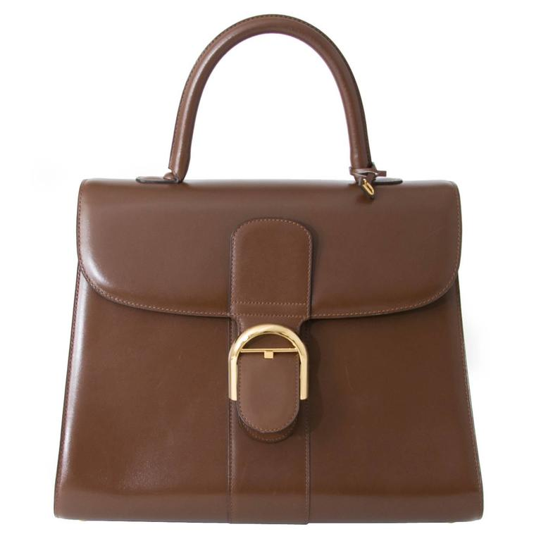 Delvaux Brillant GM Noisette 1