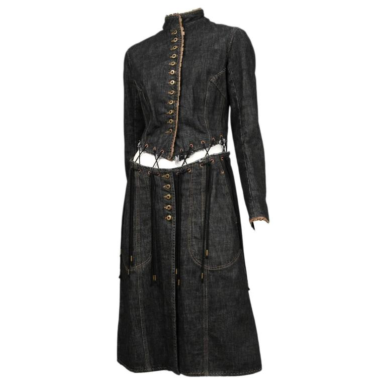 McQueen Irere Black Laces Coat  1