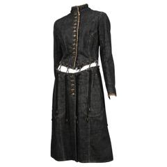 McQueen Irere Black Laces Coat
