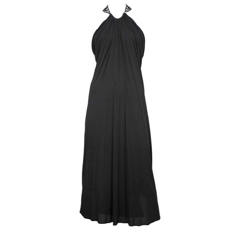 McQueen Beaded Necklace Dress