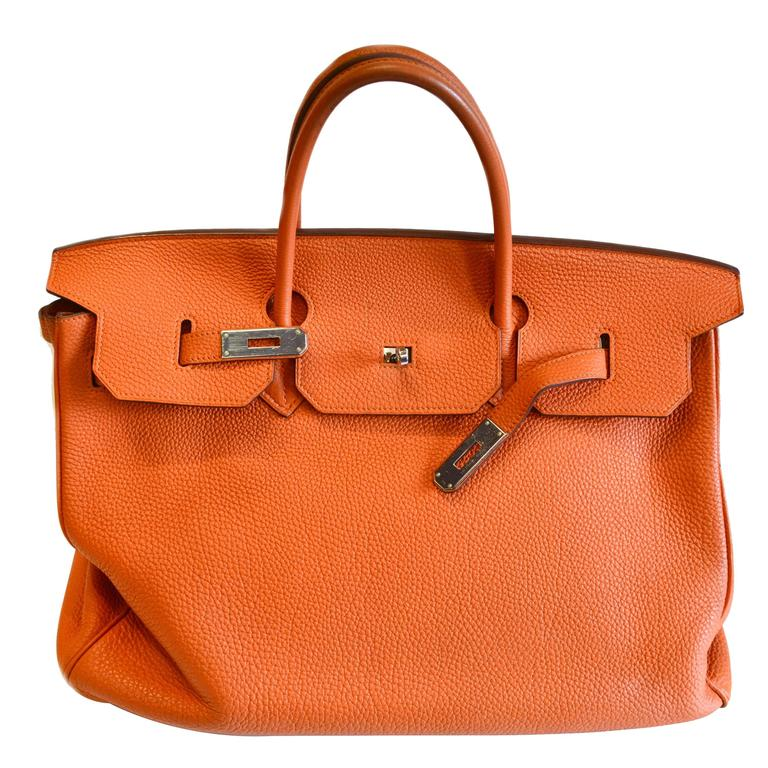 d2f37d3bb6c9 Hermes Birkin Bag Togo Size 40cm For Sale at 1stdibs