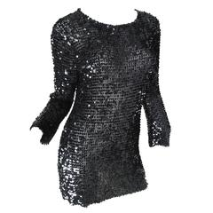 Gianfranco Ferre Sequin Tunic / Mini Dress