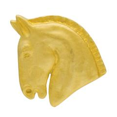 Hermes Horse Motif Pin