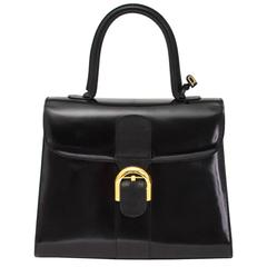 Delvaux Brillant Medium Shiny Black