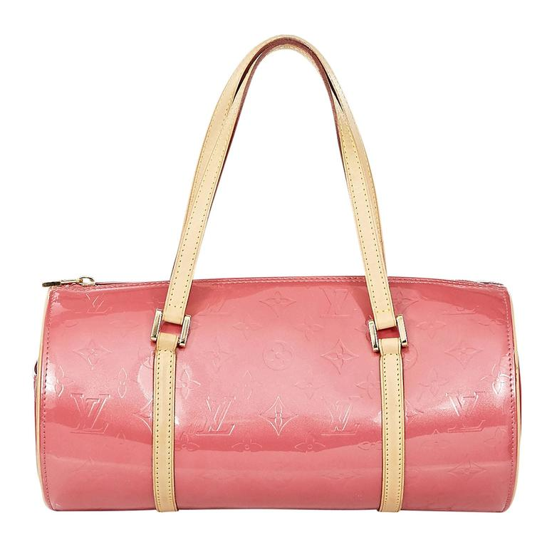 a362218d85db Pink Louis Vuitton Vernis Monogram Papillon 30 Bag at 1stdibs