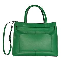 Green Reed Krakoff Leather RK40 Tote Bag