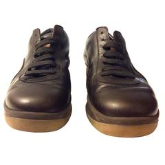 Louis Vuitton Brown Leather Shoes