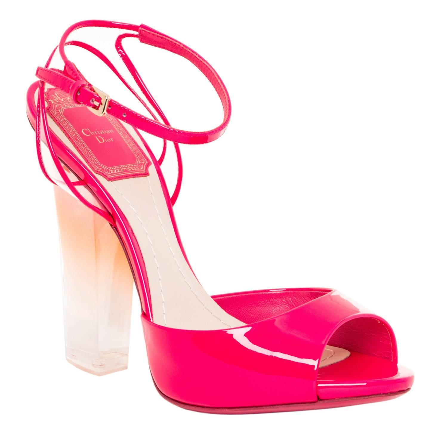 Pink Patent Heels