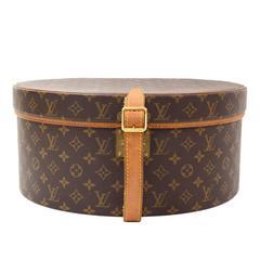 Vintage Louis Vuitton Boite Chapeaux 40 Monogram Canvas Hat Box