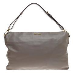 Miu Miu Cloud Shoulder Bag Leather