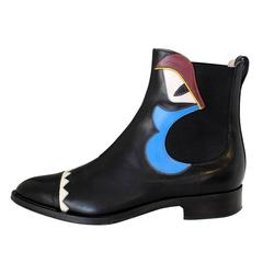 Fendi Leather Ankle Boots 38,5