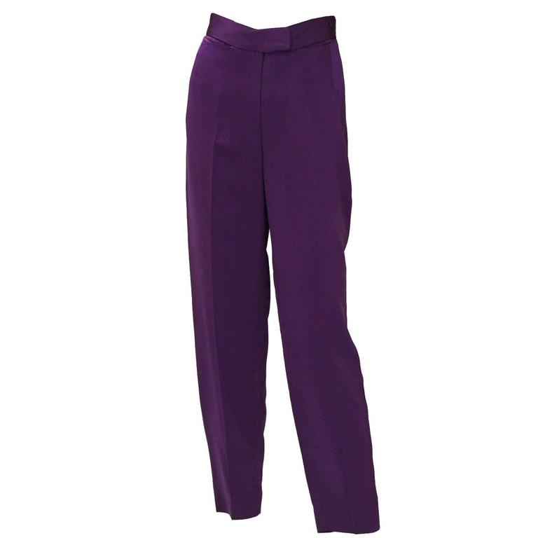 Vivienne Westwood Satin Trousers For Sale