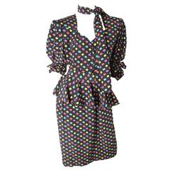 Ungaro Silk Printed Dress