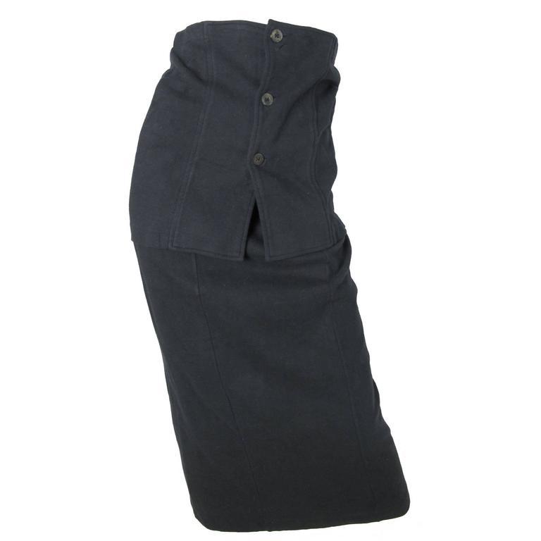 Comme des Garcons Skirt with Cummerbund