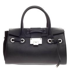 Jimmy Choo Rosalie Convertible Satchel Leather Small