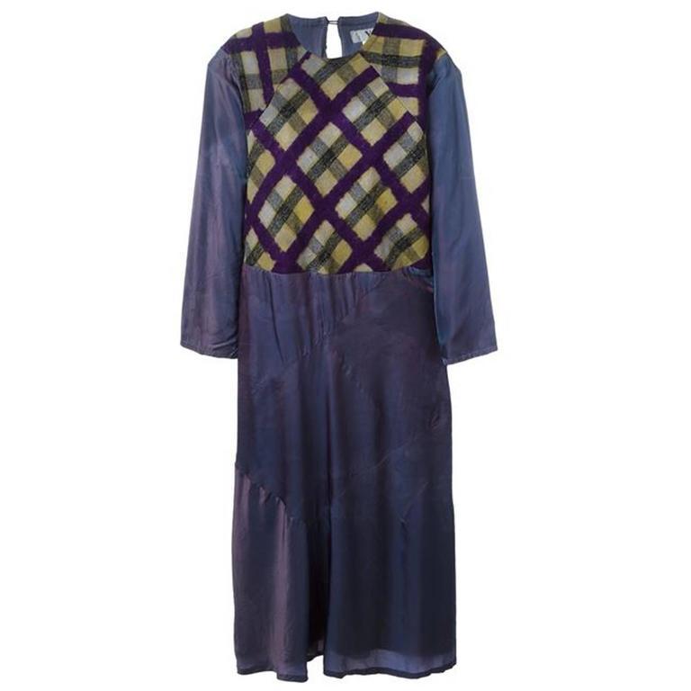 "Yohji Yamamoto ""Y"" tie-dye dress"